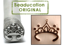 Tiara Design Stamp - Beaducation Original