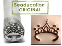 Tiara Design Stamp - Beaducation Original