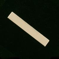 Gold Filled Long Rectangle, 24g