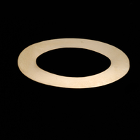 Gold Filled Large Oval Washer, 24g