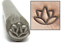 Lotus Flower Design Stamp