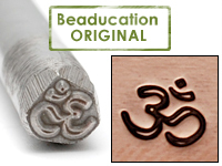 Om Design Stamp - Beaducation Original