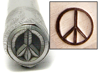 Peace Sign Design Stamp