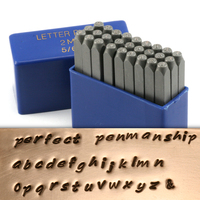 "Perfect Penmanship Lowercase Letter Stamp Set 5/64"" (2mm)"