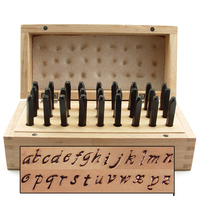 "Prose Lowercase Letter Stamp Set 1/8"" (3.2mm)"