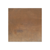 "Antiqued Brass 24 gauge Sheet Metal, 3"" x 3"" piece"