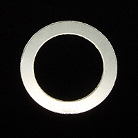 "Sterling Silver 7/8"" Washer, 5/8"" ID, 22g"