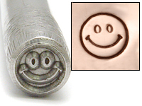 Smiley Face Design Stamp