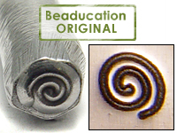 Spiral Design Stamp - Beaducation Original