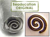 Spiral Design Stamp - Beaducation Original