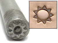 Sproket Sun Design Stamp