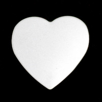 Sterling Silver Large Heart, 24g
