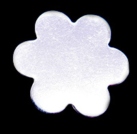 Sterling Silver Large 6 Petal Flower, 24g
