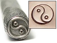 Yin Yang Design Stamp