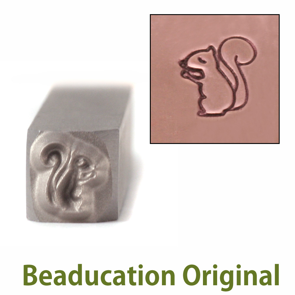 Squirrel Design Stamp-Beaducation Original