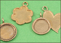 Brass Artisan Pendants