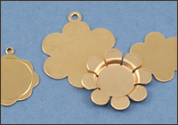Brass Flowers & Leaves
