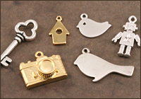 Silver & Gold Plated Charms