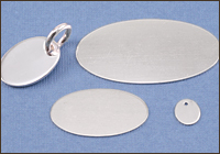 Sterling Silver Ovals
