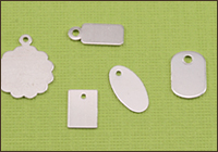Sterling Silver Tags