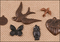 Base Metal Charms