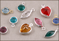 Swarovski Crystal Channel Charms