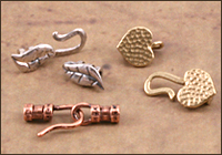 Leather Cording Pinch Ends
