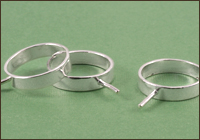 Rivetable Rings
