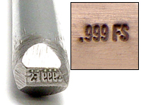 .999FS Design Stamp