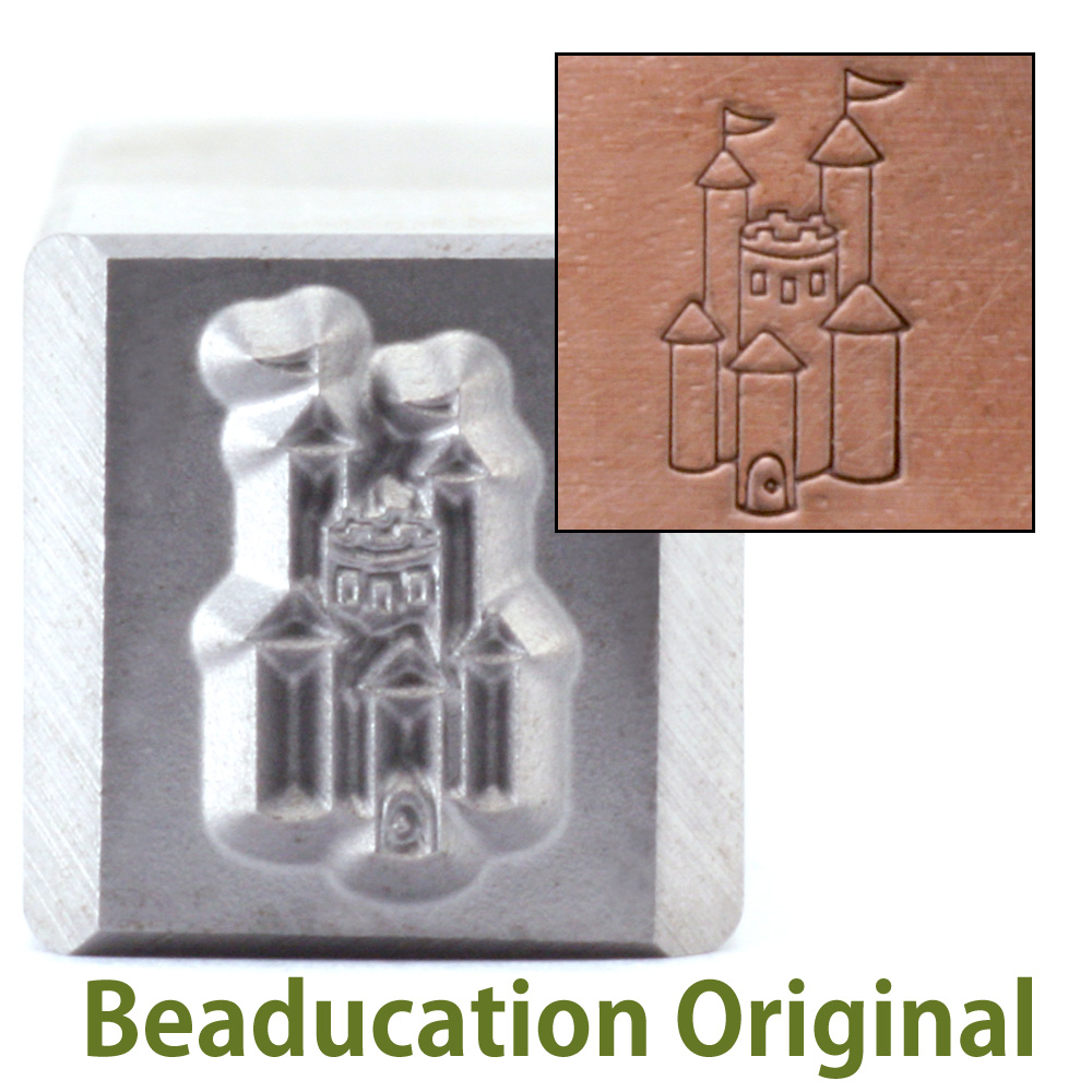 Castle Design Stamp-Beaducation Original