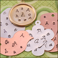 Letter and Number Stamp Sets