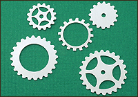 Silver Filled Cogs