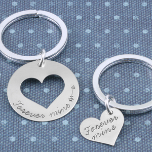 'I give you my heart' Key Chains