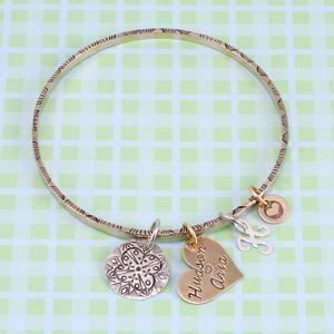 Bangle Charm Bracelet