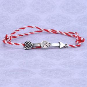 Super Simple Custom Best Friend Initial Metal Stamped Bracelet DIY