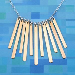 Fringe Benefits Necklace
