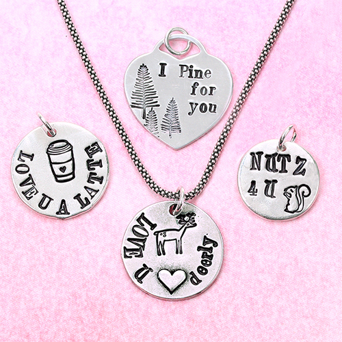 Hand stamped jewelry soooooo much love mozeypictures