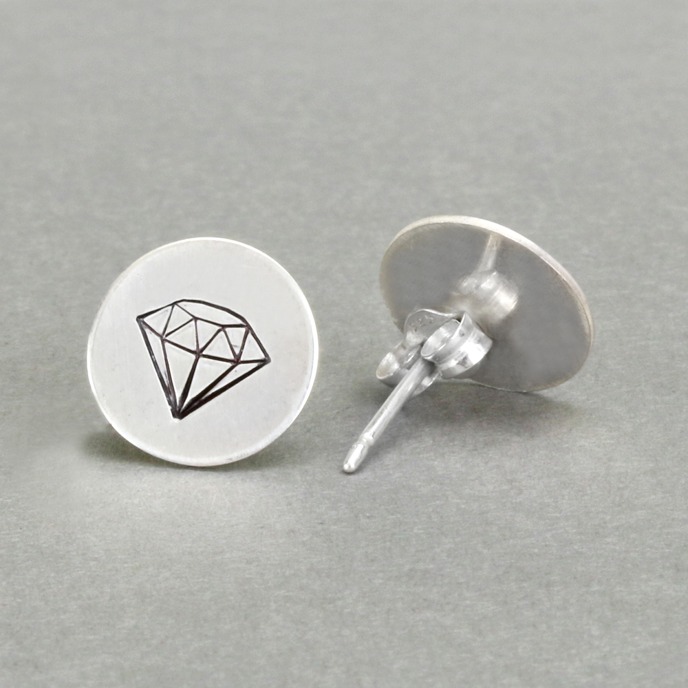 How to Solder on a Post to Make an Earring