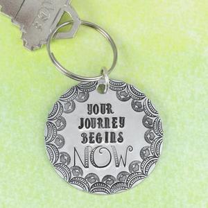 2 Metal Stamped Keychain DIYs