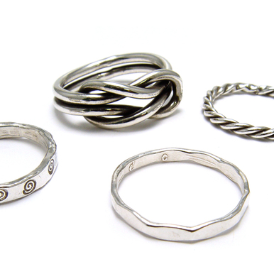 Woven Rings