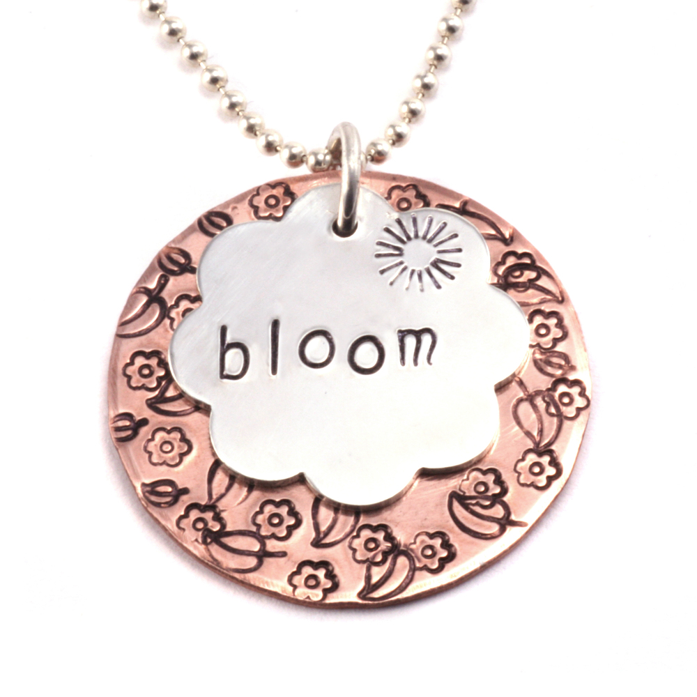 How To Stamp On Metal Diy Hand Stamped Jewelry Making