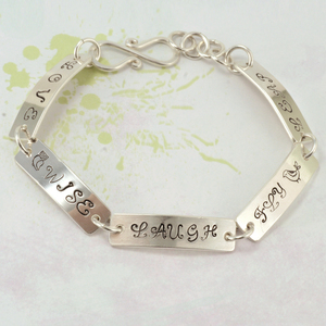 Words of Wisdom Bracelet