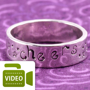 Stamped Band Ring
