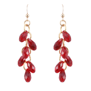 Swarovski Red Drops