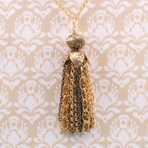 Chain Tassel Pendant