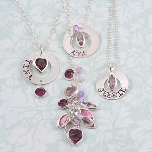 Personalized Bridesmaids Necklaces