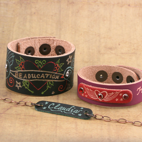 Beaducation_engraving_leather