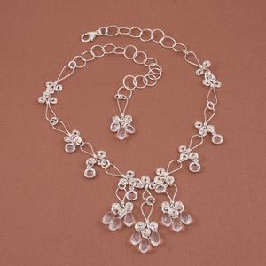 Crystal Embellished Fleur de Link