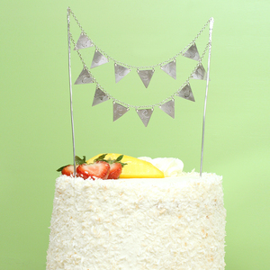 Sterling Silver Cake Topper