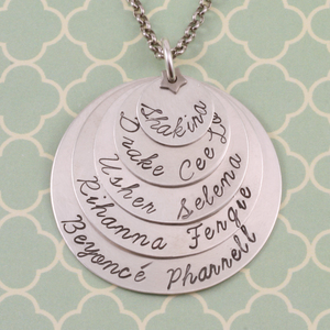 The Ultimate Stamped and Stacked Necklace